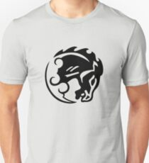 Bioshock Infinite Bucking Bronco Vigor [Black on White] T-Shirt