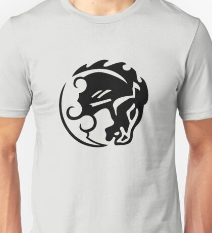 Bioshock Infinite Bucking Bronco Vigor [Black on White] Unisex T-Shirt