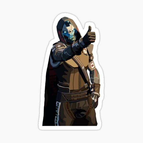 Destiny 2: Cayde-6 Sticker