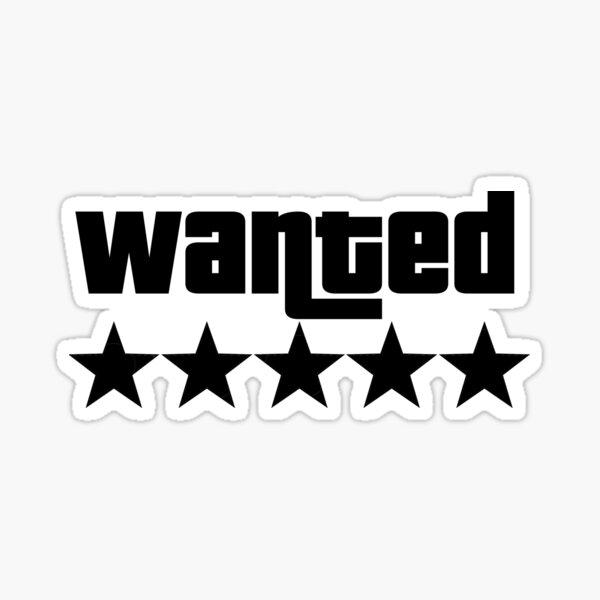 GTA Wanted Sticker