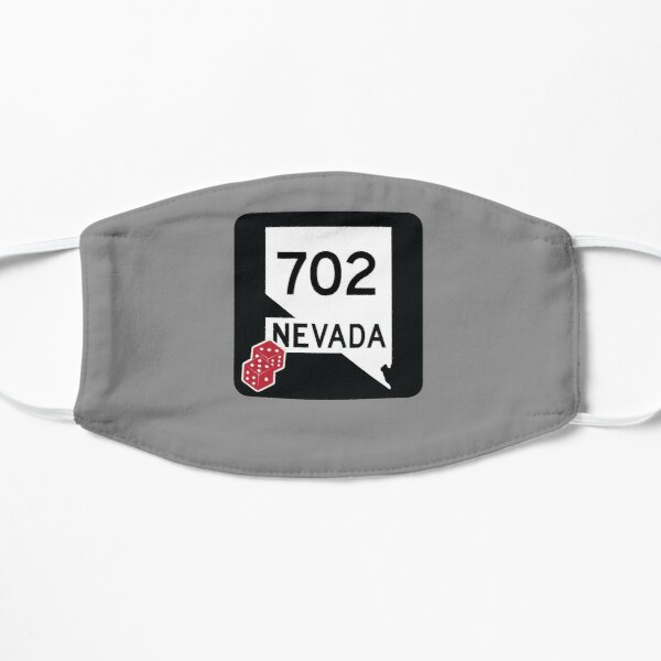 Nevada State Route 702 (Area Code 702) - w. Dice Mask