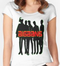 ㋡♥♫Love BigBang K-Pop Clothing & Stickers♪♥㋡ Women's Fitted Scoop T-Shirt
