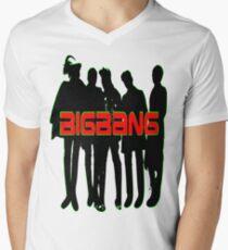 ㋡♥♫Love BigBang K-Pop Clothing & Stickers♪♥㋡ Men's V-Neck T-Shirt