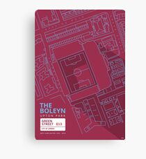 The Boleyn Ground - West Ham Utd Canvas Print