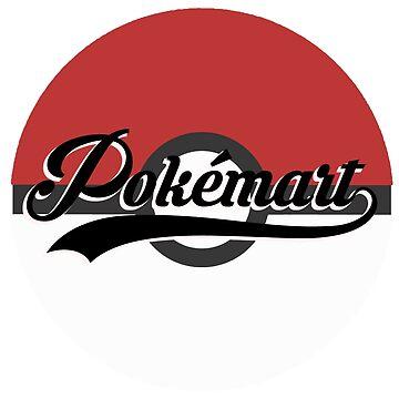 Pokemart retro logo by jamden37