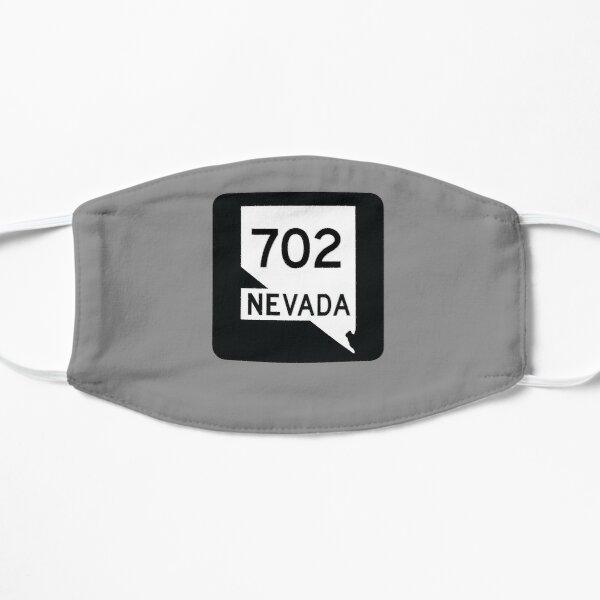 Nevada State Route 702 (Area Code 702) Mask
