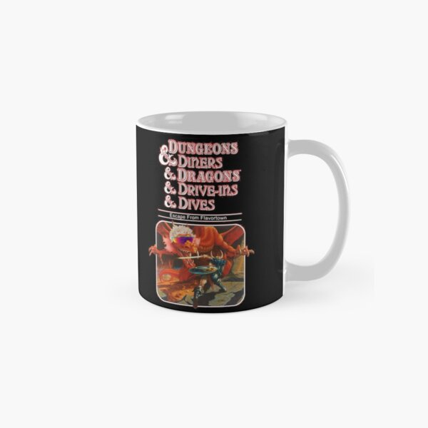 Dungeons & Diners & Dragons & Drive-Ins & Dives: Escape from Flavortown Classic Mug