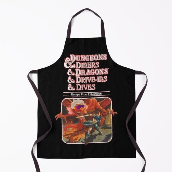 Dungeons & Diners & Dragons & Drive-Ins & Dives: Escape from Flavortown Apron
