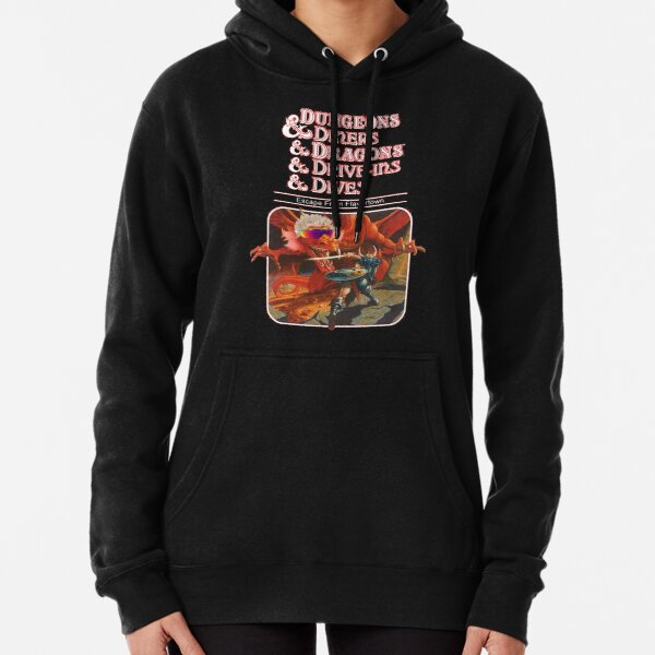 Dungeons & Diners & Dragons & Drive-Ins & Dives: Escape from Flavortown Pullover Hoodie