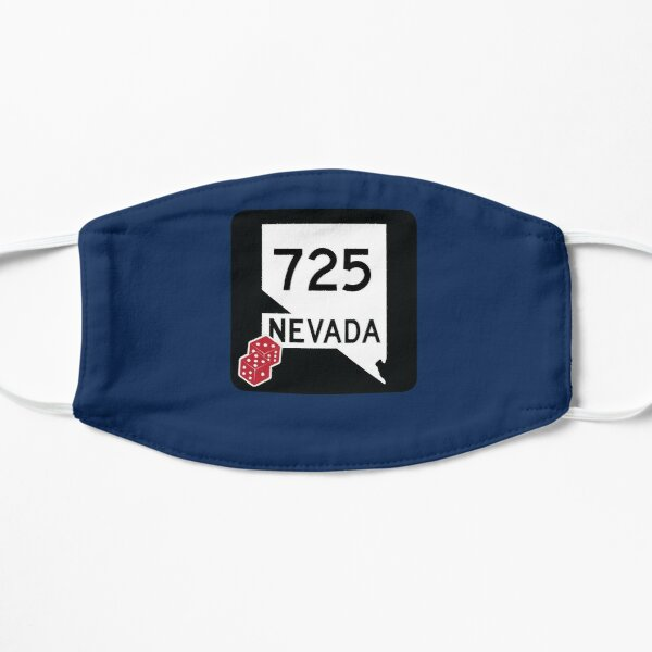Nevada State Route 725 (Area Code 725) - w. Dice Mask