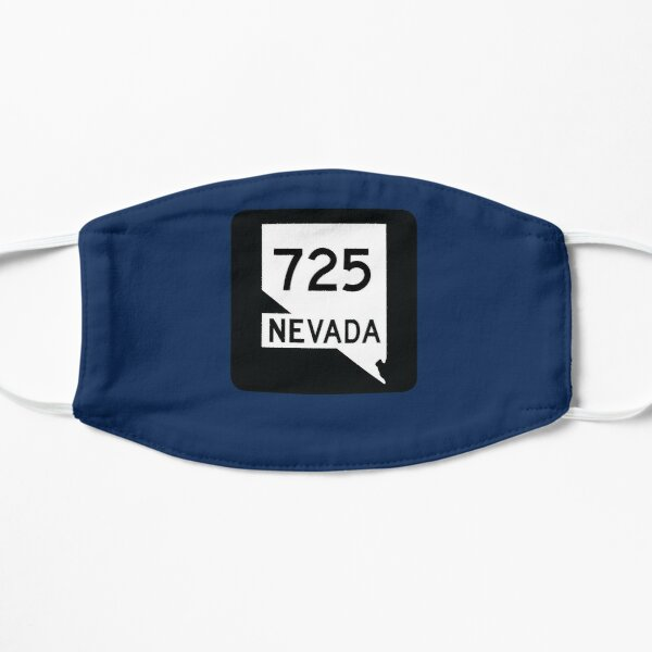 Nevada State Route 725 (Area Code 725) Mask
