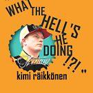 """What the hell's he doing!?!"" - Kimi Raikkonen Team Radio by evenstarsaima"