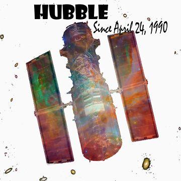 Hubble T-Shirt by TheRandomRino