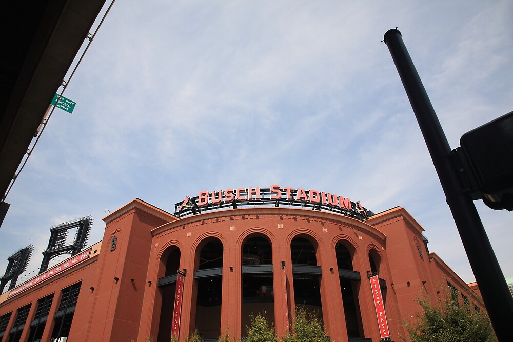 Busch Stadium - St. Louis Cardinals by Frank Romeo