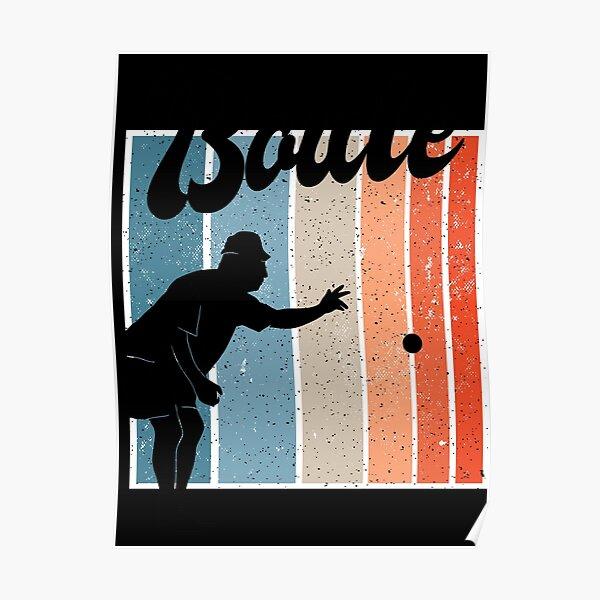 J'adore jouer Boul Poster