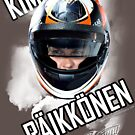 Kimi Raikkonen, 2013 Helmet by evenstarsaima