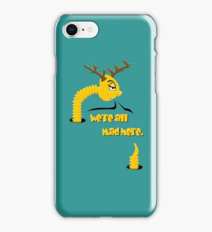 Worm with Horns VRS2 iPhone Case/Skin