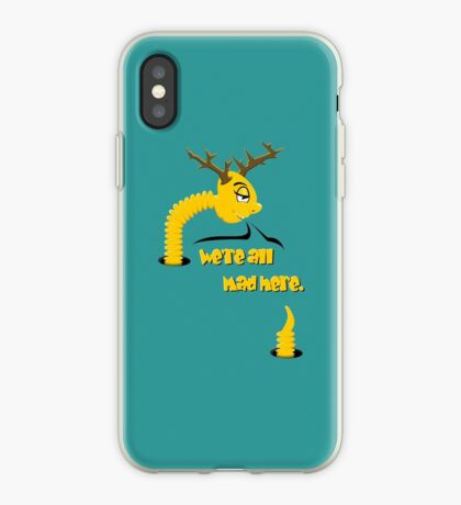 Worm with Horns VRS2 iPhone Case