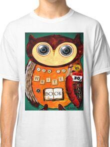 Editorial Owl Classic T-Shirt