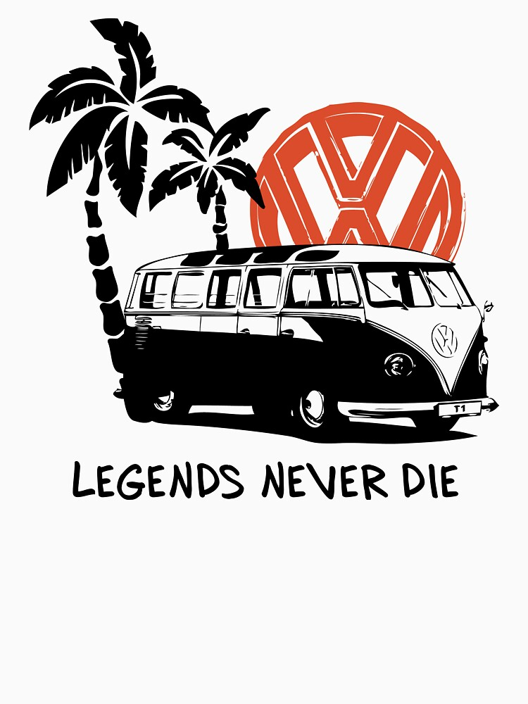 Legends Never Die - Retro BULLY T-Shirt | Unisex T-Shirt