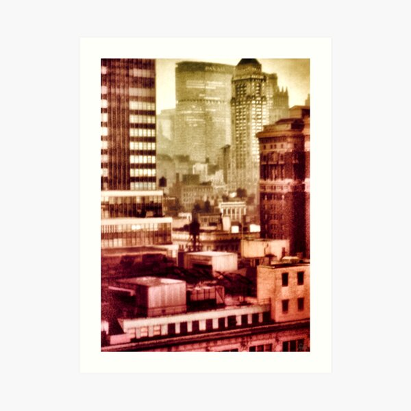 The Old Pan Am Building Art Print
