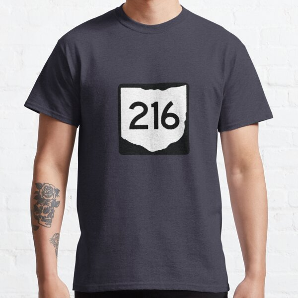 Ohio State Route 216 (Area Code 216) Classic T-Shirt