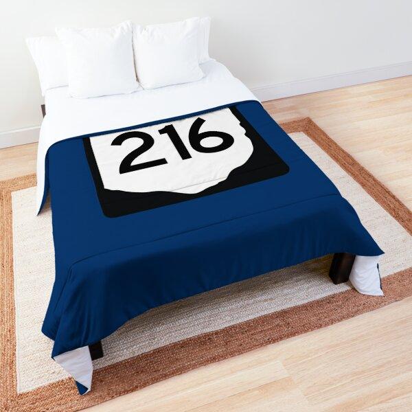 Ohio State Route 216 (Area Code 216) Comforter