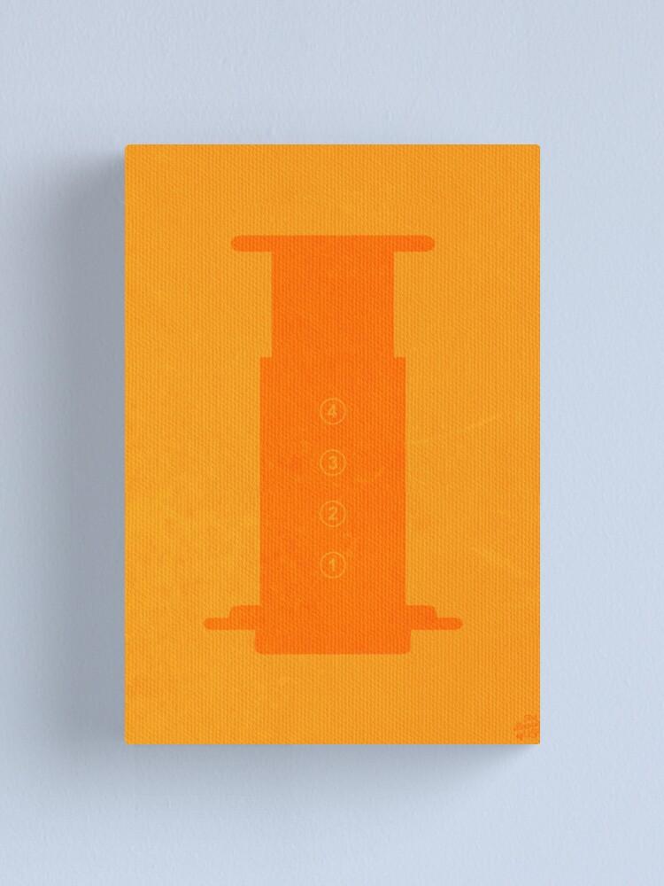 Alternate view of The Brew Series: AEROPRESS Canvas Print