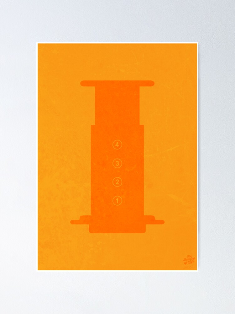 Alternate view of The Brew Series: AEROPRESS Poster