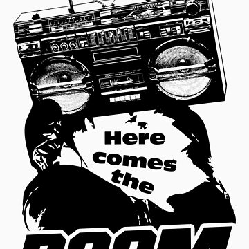 The Boom Boxer by sketchx