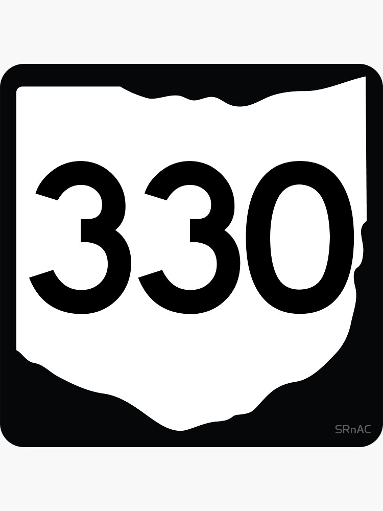 Ohio State Route 330 (Area Code 330) by SRnAC