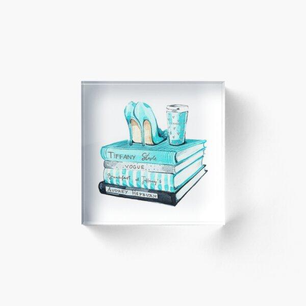 Tiffany & Co Acrylic Block