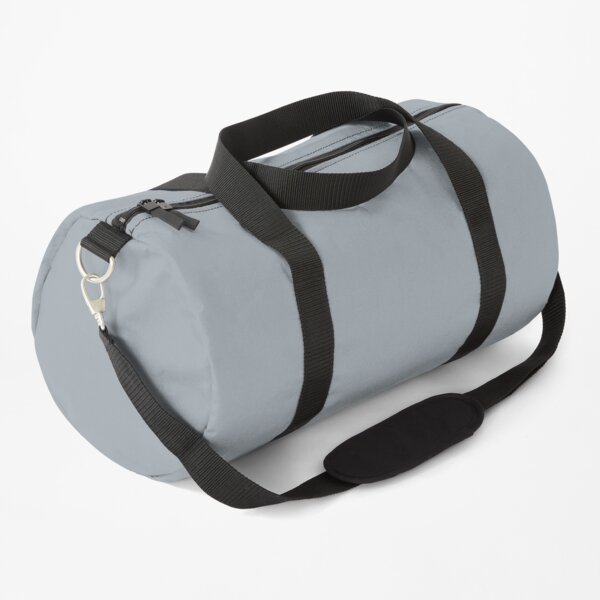 Grey Mist Solid Grey Color Duffle Bag