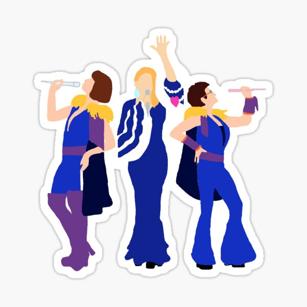 mama mia Sticker