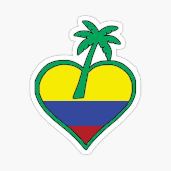 TropicalLove Colombia Sticker