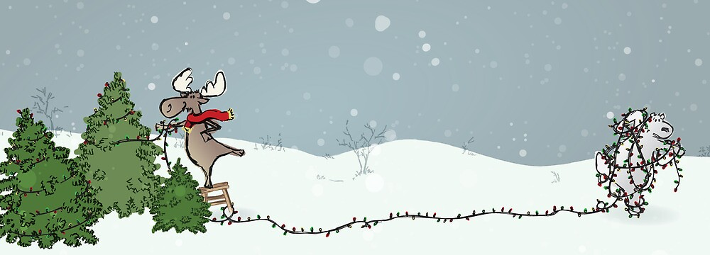 Merry Christmoose by Lindsey Butler