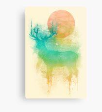 Color Drop - Deer Metal Print