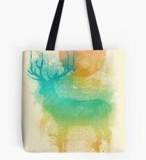 Color Drop - Deer Tote Bag