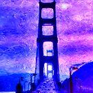 The Golden Gate Bridge by Dennis Fehler