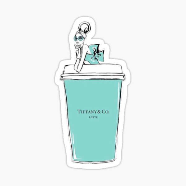 Tiffany & Co Latte Sticker
