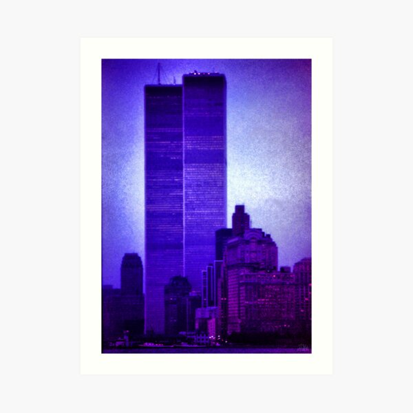 The Twin Towers Art Print