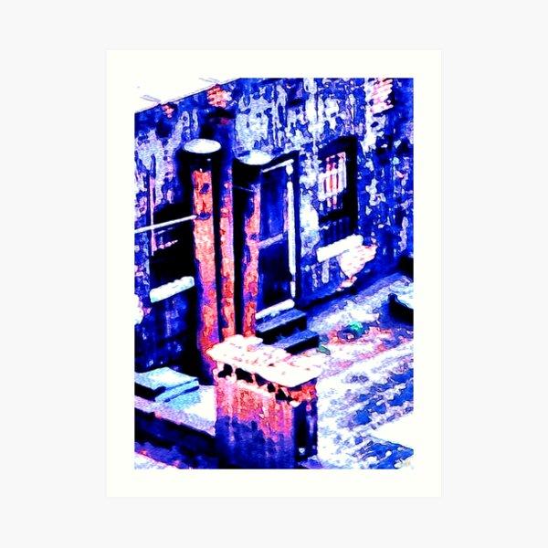 New York Chimneys Art Print