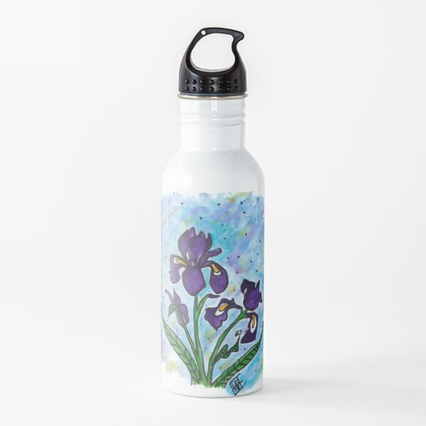 Flower Series 10 -  Claude's Iris Water Bottle