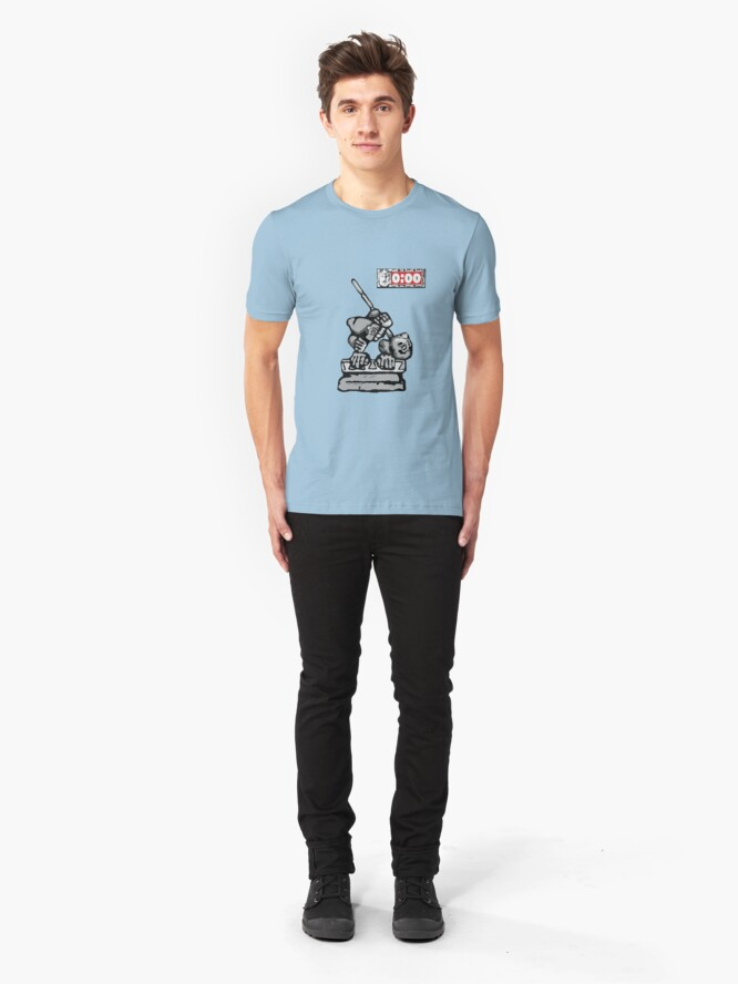 Alternate view of Shrine of The Silver Fail Slim Fit T-Shirt