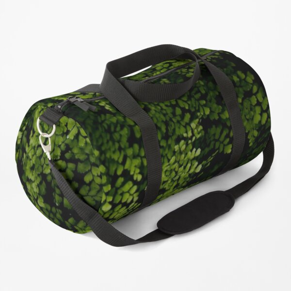 Small leaves.  Duffle Bag