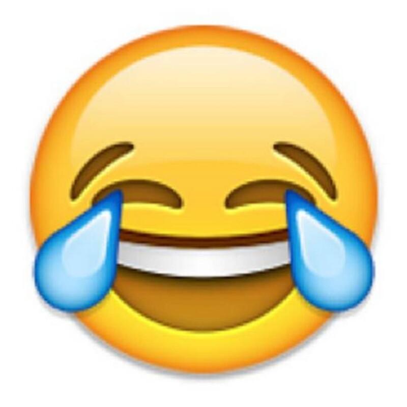 emoji laughing with tears - photo #2