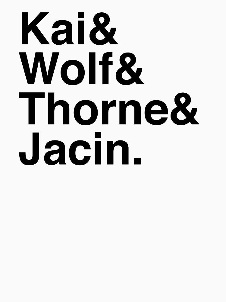 Kai & Wolf & Thorne & Jacin by Kitmagic