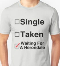 Waiting for a Herondale Unisex T-Shirt