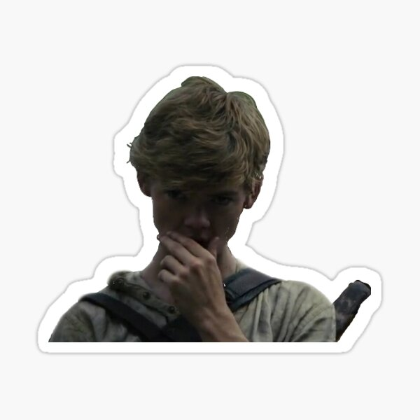 The Maze Runner Newt Headshot Sticker