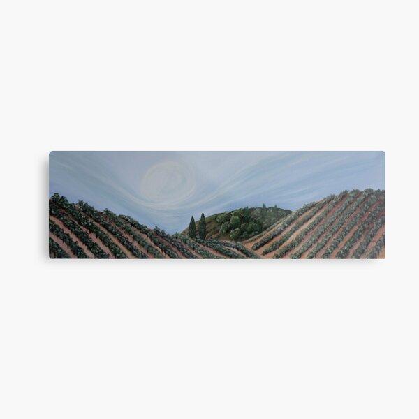 Whispers of Wine  Metal Print
